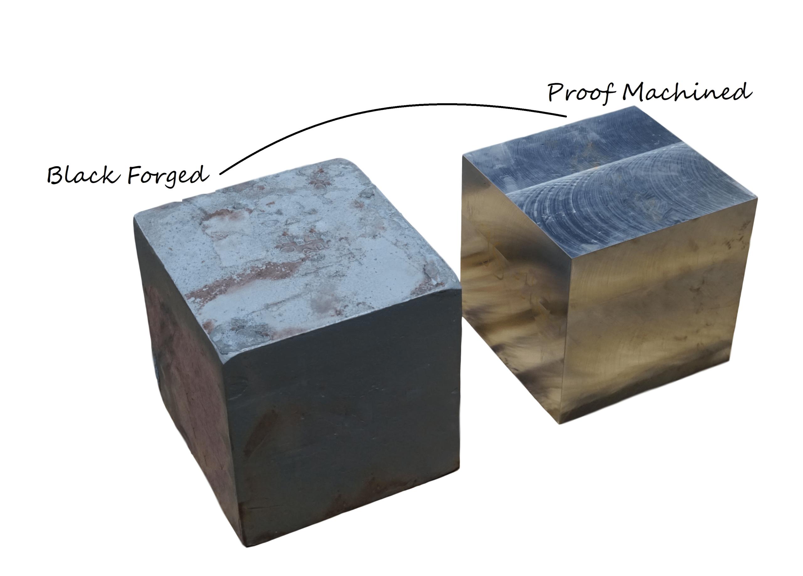 Blocks Black and Proof Machined